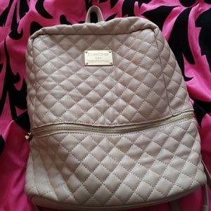 Bebe tan backpack purse big